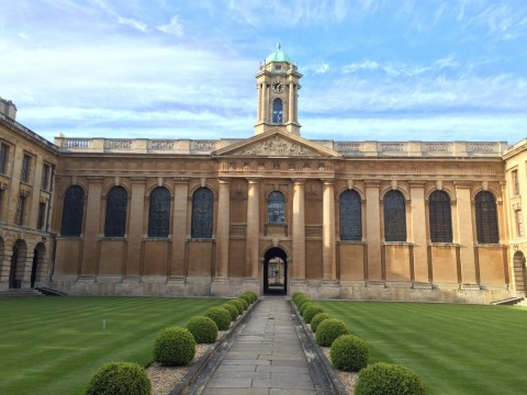 David's College at Oxford
