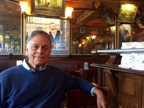 Tomás at La Palette